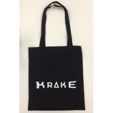 Bag Krake White on Black